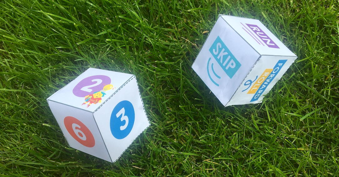 Exercise Dice | Sporty Kids Craft