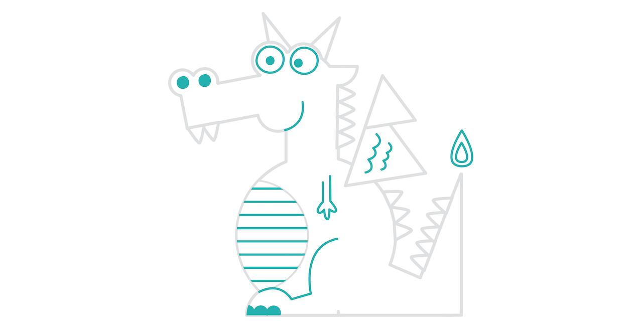 dragon drawing step seven