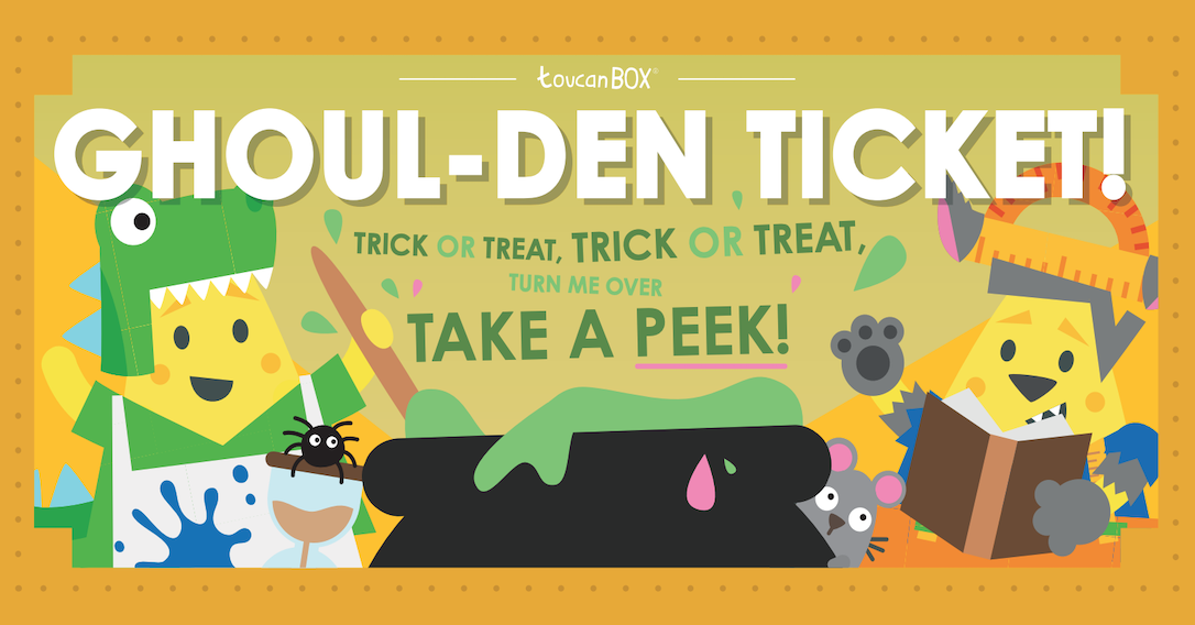 Will You Find The Halloween Ghoul-den Ticket? | toucanBox
