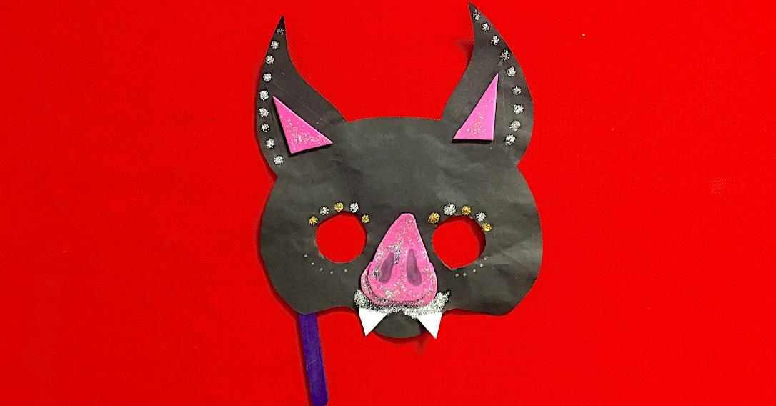 vampire bat mask