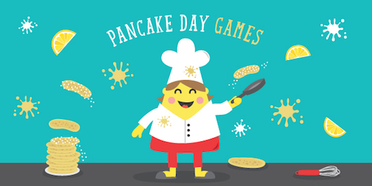 Pancake Day Games