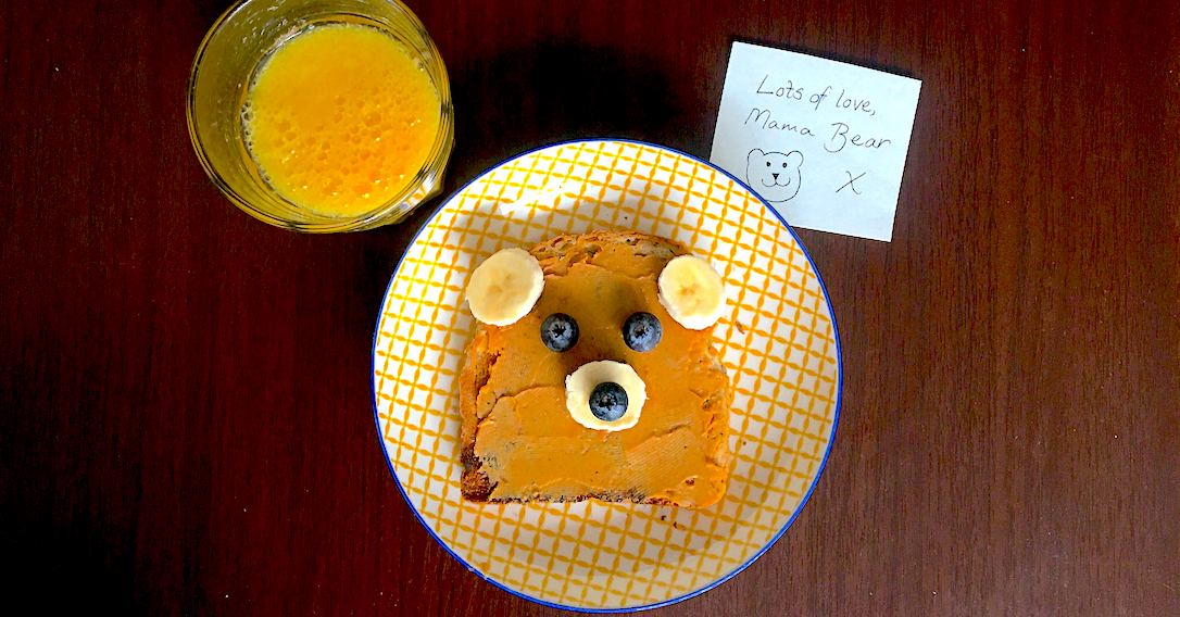Peanut Butter Bears | Back To School Breakfast