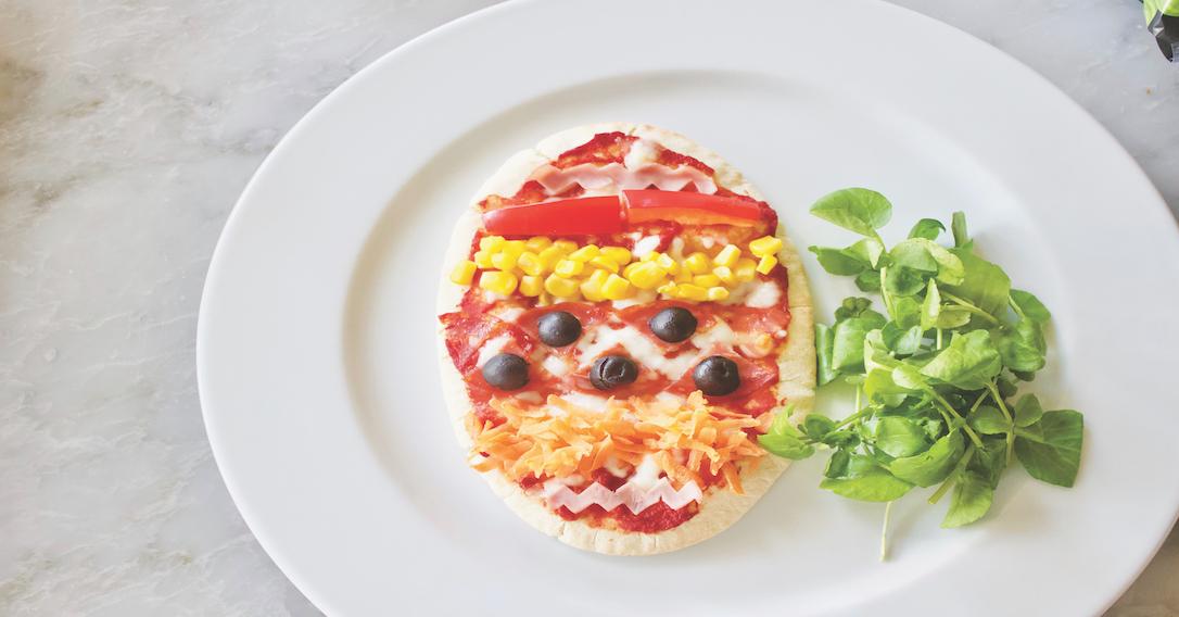 serve your pizza egg!