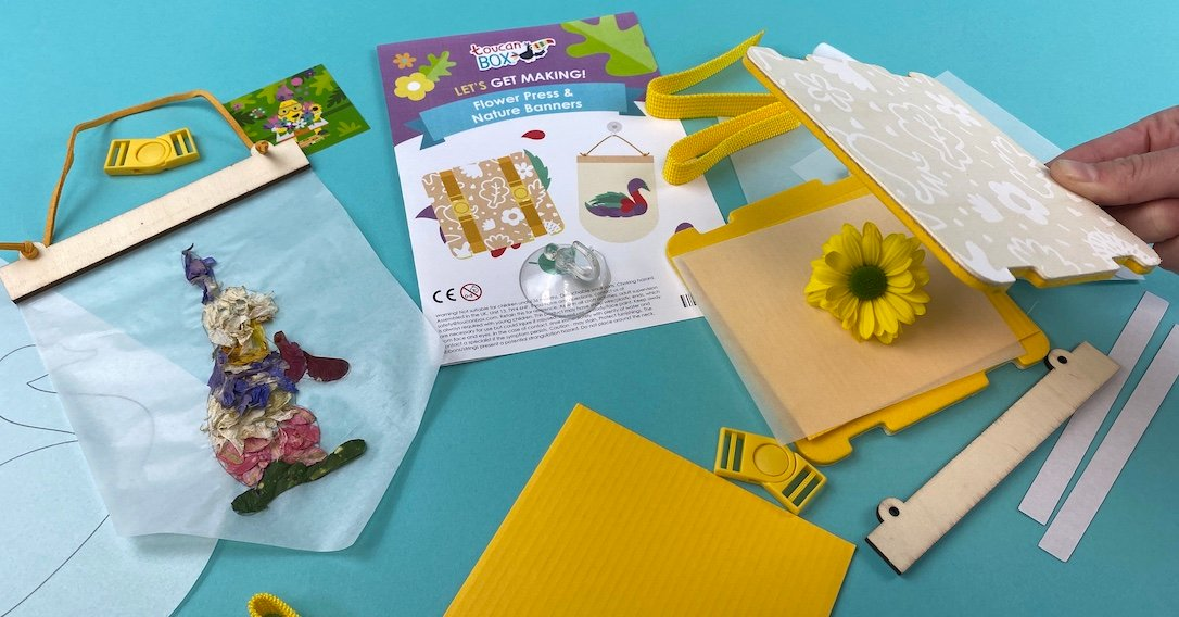 Children's Flower Press Crafts | toucanBox