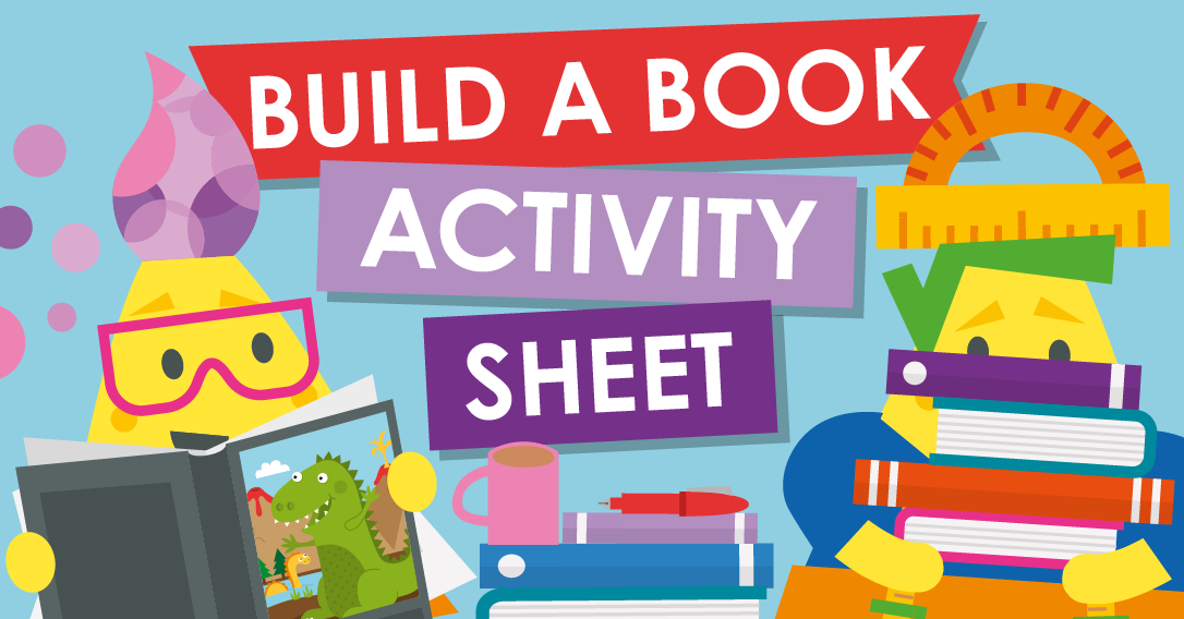 Build A Book Activity Sheet | World Book Day Craft