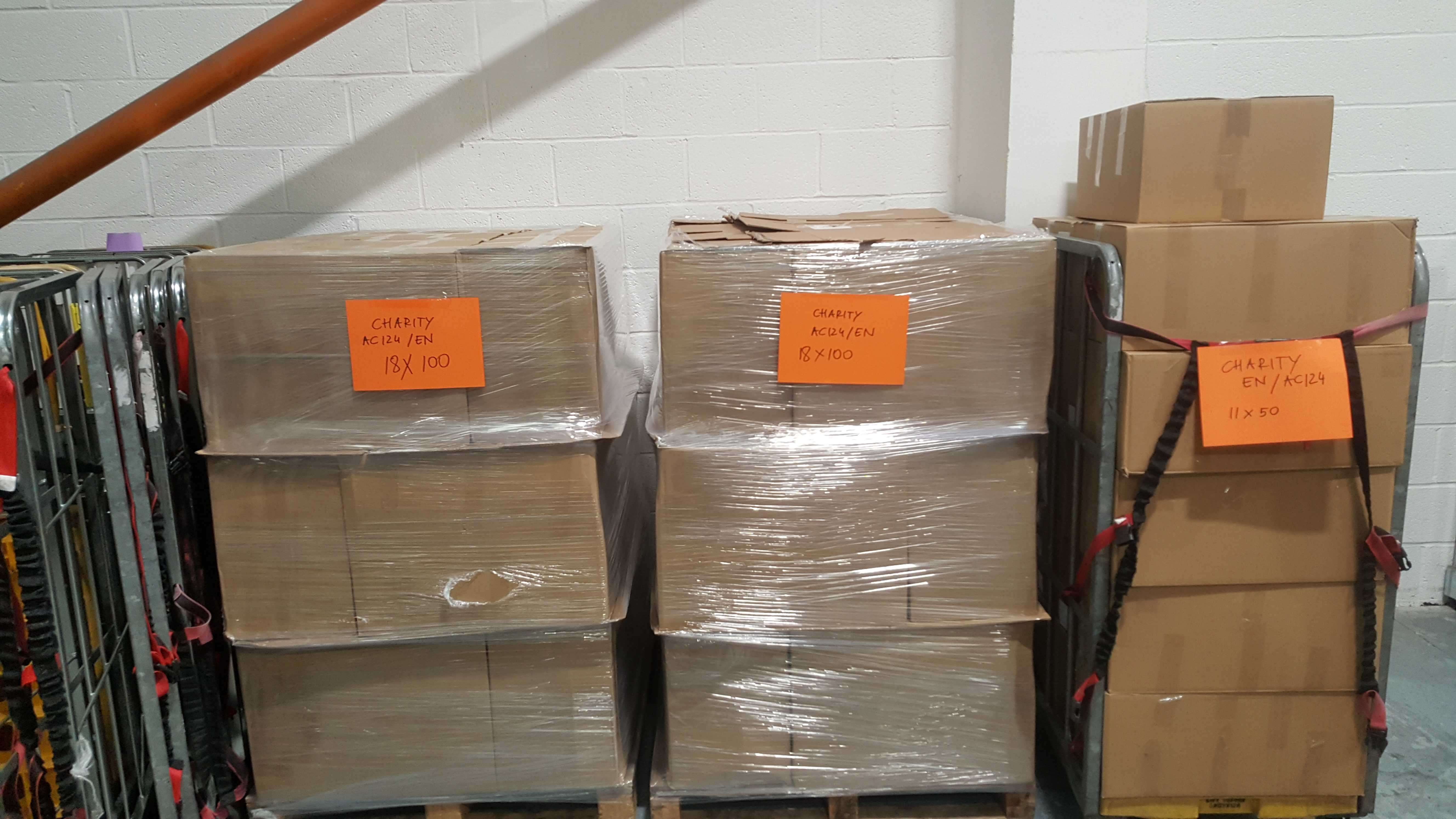 charity toucanboxes ready to ship
