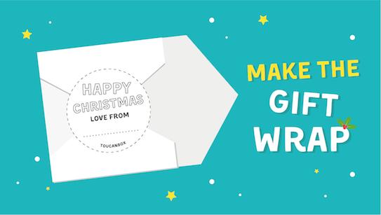 Make gift wrap