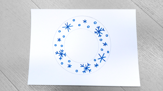 Add patterns to your snowflake
