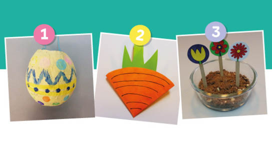 Three Easter Crafts