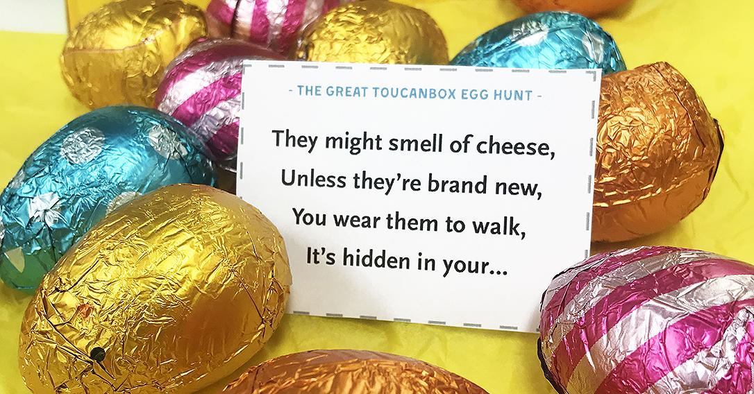Easter Egg Hunt Cards | toucanBox
