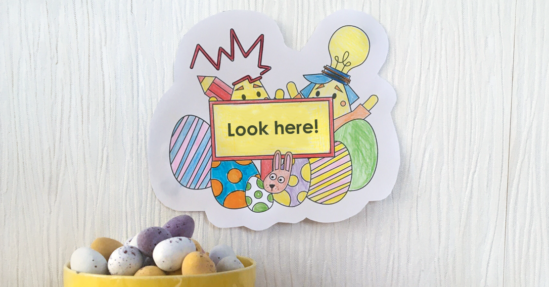 Easter Egg Hunt Signs | Indoor Egg Hunt