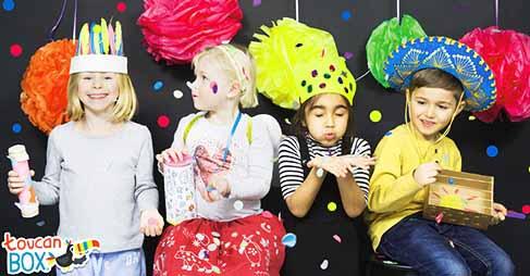 hosting a kids' birthday party