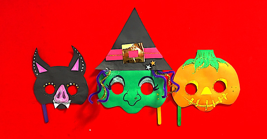 Halloween Mask Printable Ideas For Kids | toucanBox