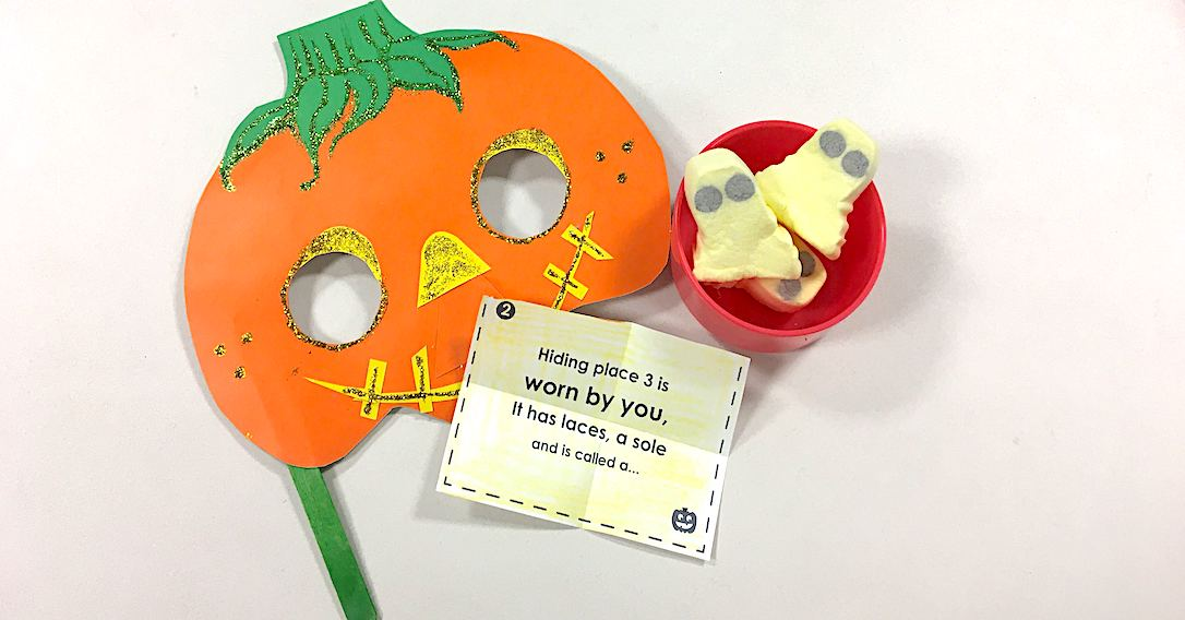 Halloween Treasure Hunt & Printable Clue Cards | toucanBox