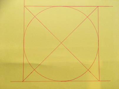Finding the centre of a circle