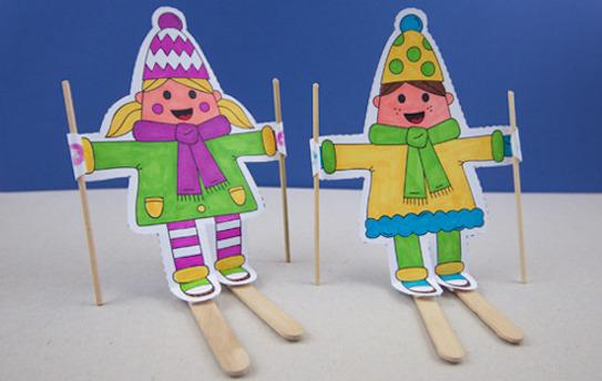 Ski characters craft