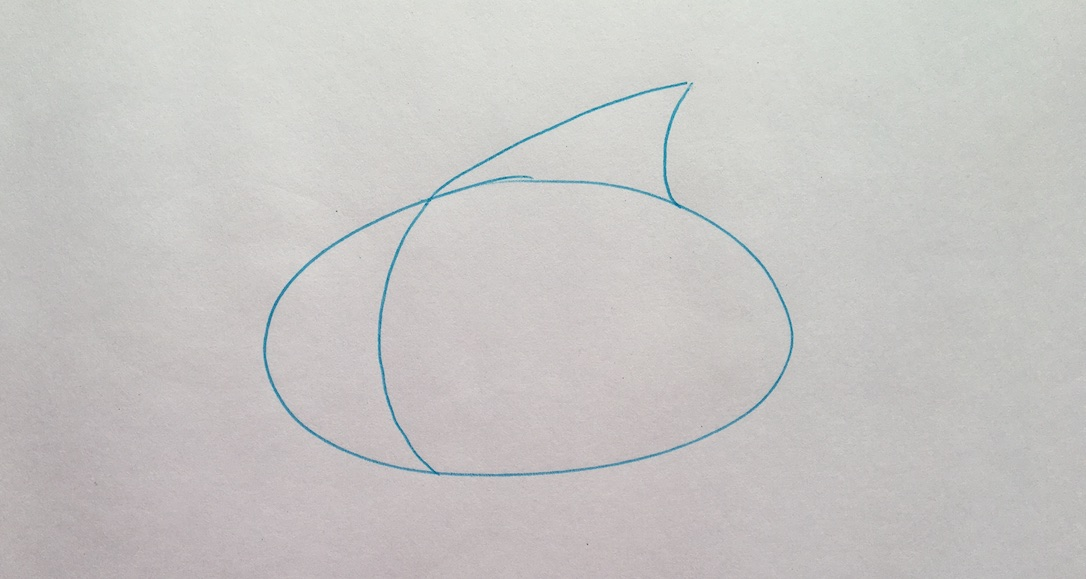 draw a curved line