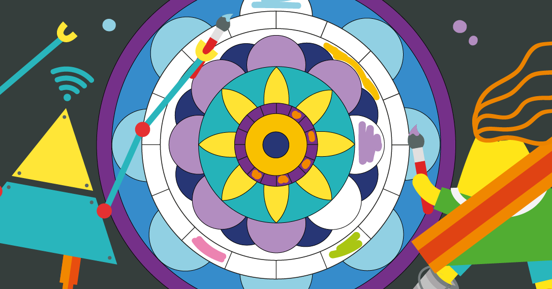 Mandala Colour In | Mindfulness May