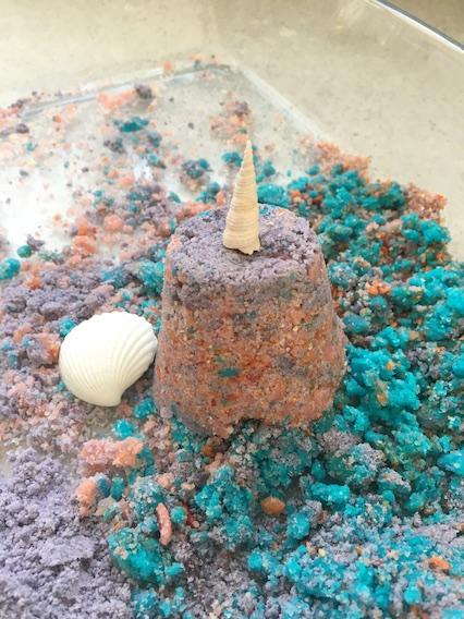 make a sandcastle
