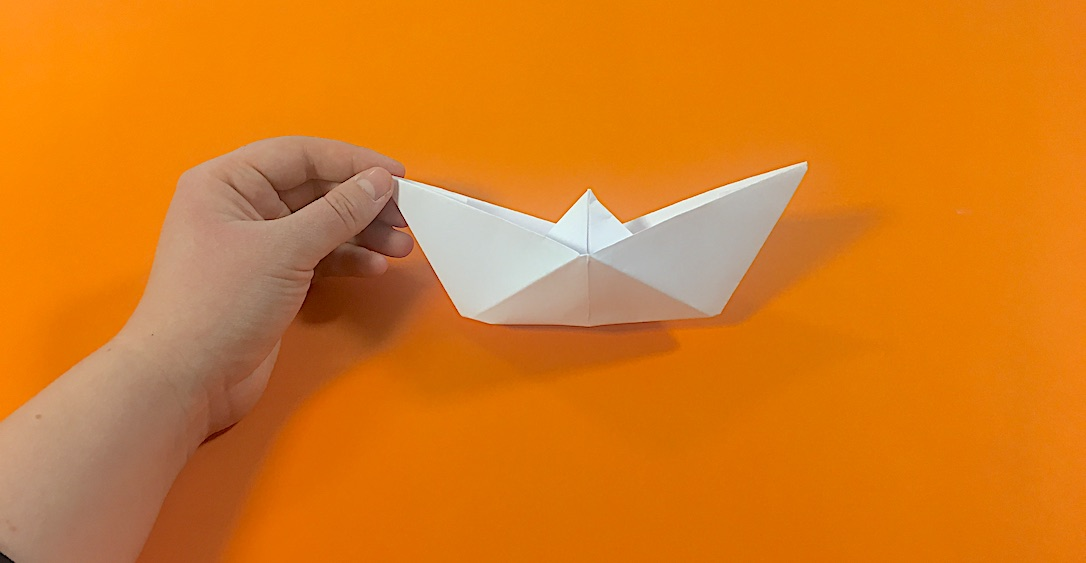 shape the boat