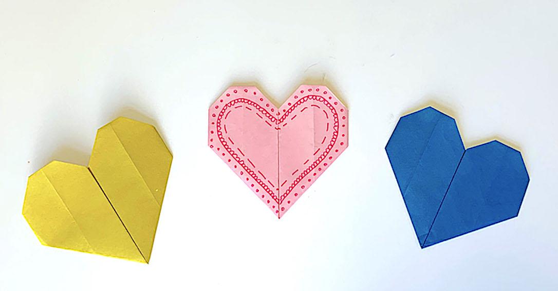 Origami Hearts | toucanBox