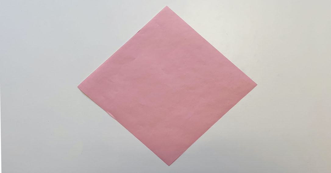 position the square as a diamond