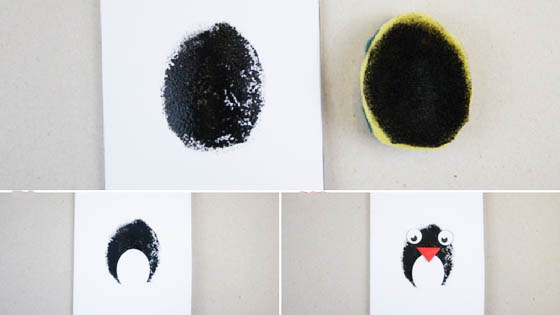 How to craft a cute penguin