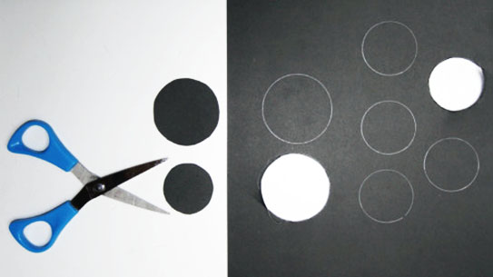 Cut out circles