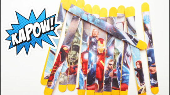 group superhero puzzle