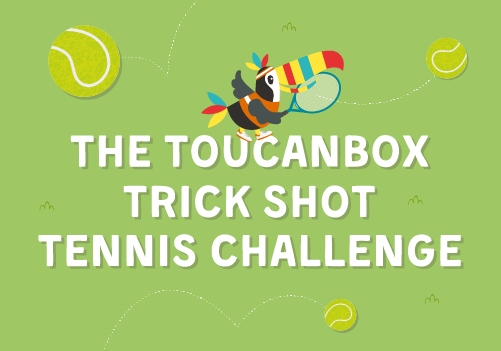 The toucanBox Tennis Trick Shot Challenge