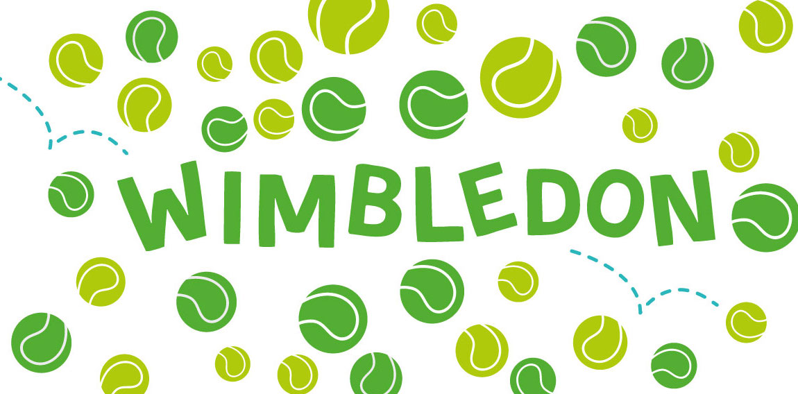 Wimbledon Activity Sheet and Tennis Skills For Kids