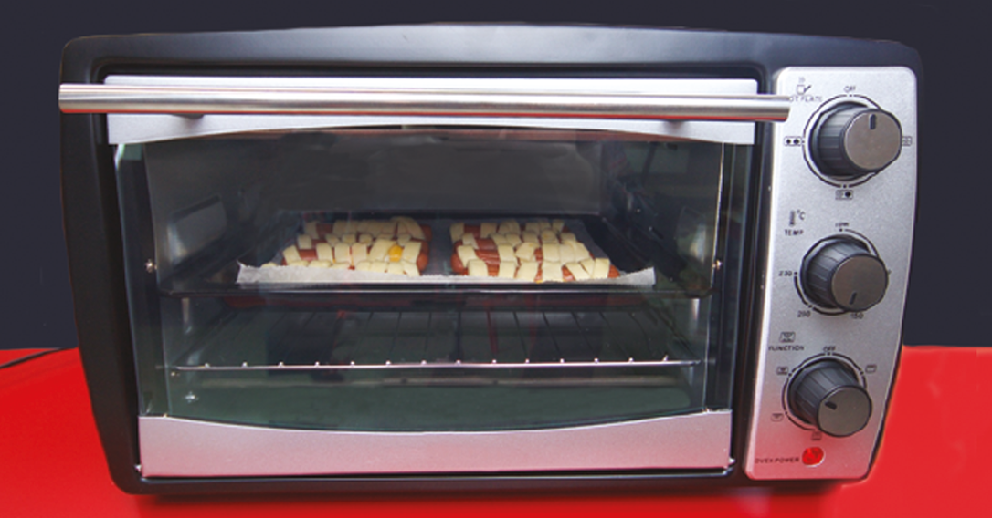 place in oven