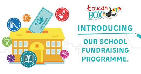 Launch of School Fundraising Programme | toucanBox
